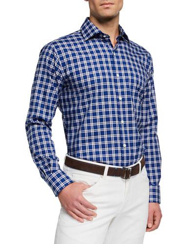 da6a7bfbb49a Quick Look. Peter Millar · Men s Crown Check Sport Shirt