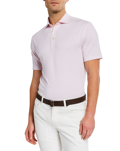 Men's Sean Halford Stripe Jersey Polo
