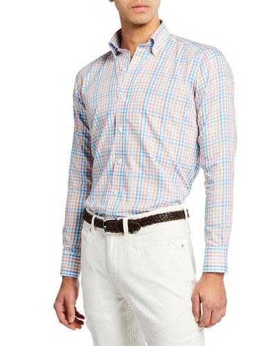 1d1004a919bd Quick Look. Peter Millar · Men s Amalfi Check Long-Sleeve Sport Shirt