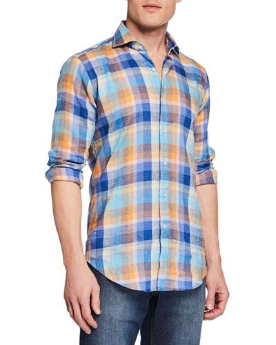 Men's La Jolla Checked Sport Shirt