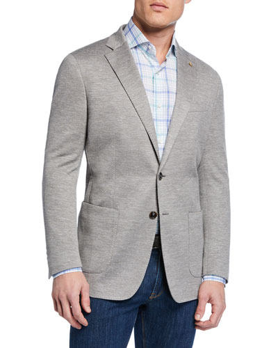 Men's La Jolla Two-Button Soft Jersey Jacket