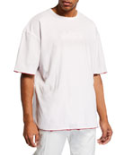 CALVIN KLEIN 205W39NYC Men's Jaws Oversized Double Face