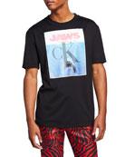 CALVIN KLEIN 205W39NYC Men's Jaws T-Shirt