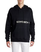 Givenchy Men's Graffiti Logo Hoodie