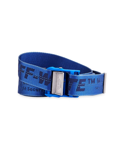 952f67fc860 Quick Look. Off-White · Men s Industrial Web Logo Belt ...