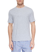 Derek Rose Men's Ethan Cotton Short-Sleeve Tee, Blue