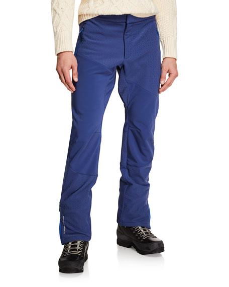 Stefano Ricci Men's Tonal-Print Ski Trousers