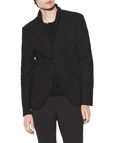 Men's Slim-Fit 2-Button Jacket