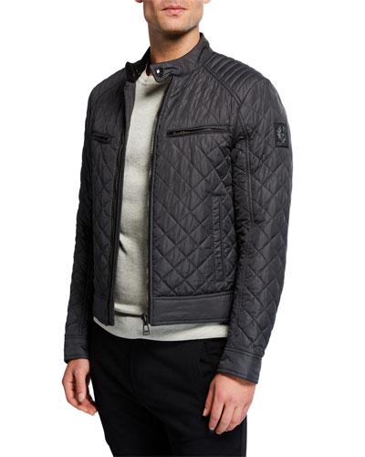 Men's Vintage Beckford Quilted Racer Jacket