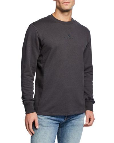 Men's Logo-Front Sweatshirt