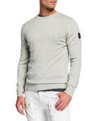 Belstaff Men's Cotton/Silk Crewneck Sweater