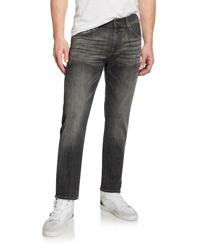 Men's Slimmy Slim Stretch-Denim Jeans, Cloudburst