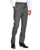 CALVIN KLEIN 205W39NYC Men's Glen Plaid Wool Pants