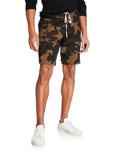Men's Utility Camo Cargo Shorts