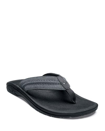 Men's Hokua Mesh Flip-Flop Sandals