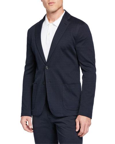Men's Geo Jersey Soft Jacket