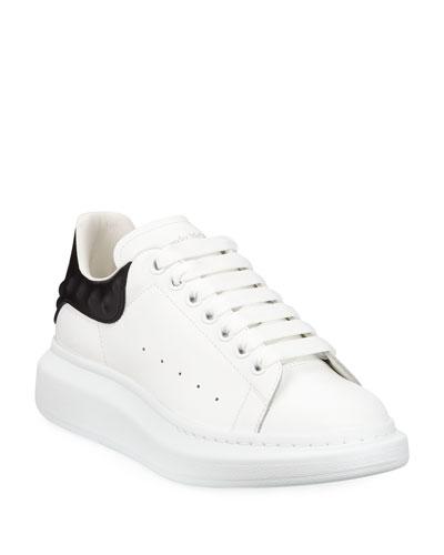 6430cb9532dd2 Quick Look. Alexander McQueen · Men s Oversized Leather Low-Top Sneakers