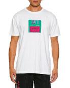 Marcelo Burlon Men's Floppy Disk Graphic T-Shirt