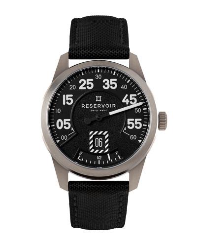 Men's AirFight Titane Stainless Steel Watch