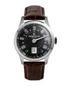 Reservoir Men's Longbridge Club Watch w/ Leather Strap