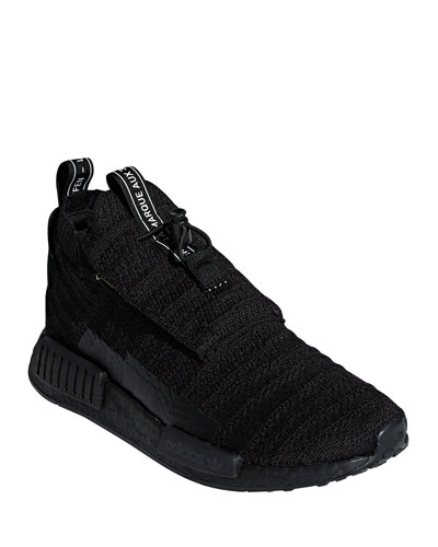 47012385facad Quick Look. Adidas · Men s NMD TS1 PrimeKnit Trainer Sneakers. Available in  Black