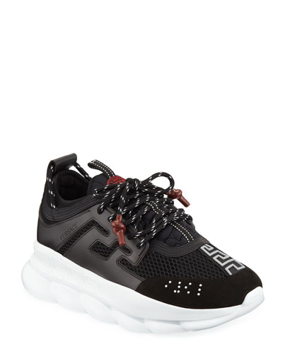 Men's Chain Reaction Sneakers, Black