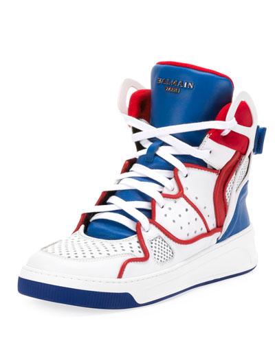 Men's Keith High-Top Colorblock Sneakers