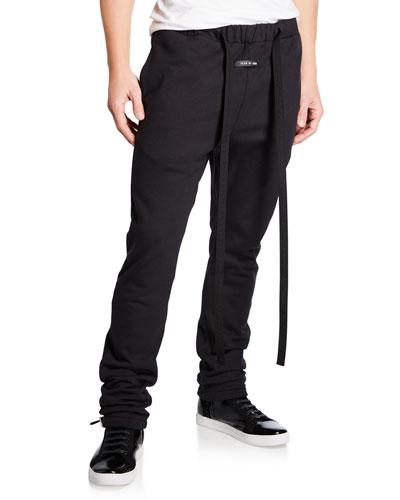 Men's Core Strap-Detail Sweatpants