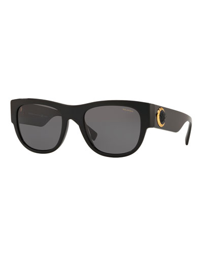 93068791fe7 Quick Look. Versace · Men s Square Acetate Wrap Sunglasses