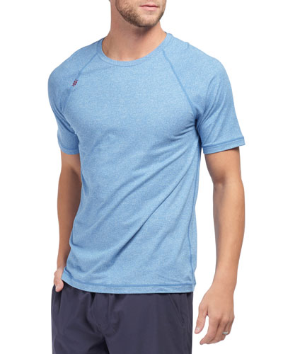 Men's Reign Heathered T-Shirt, Track Blue