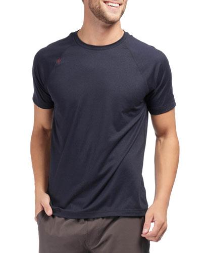 Men's Reign Active T-Shirt, Navy