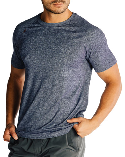Men's Reign Heathered T-Shirt, Midnight