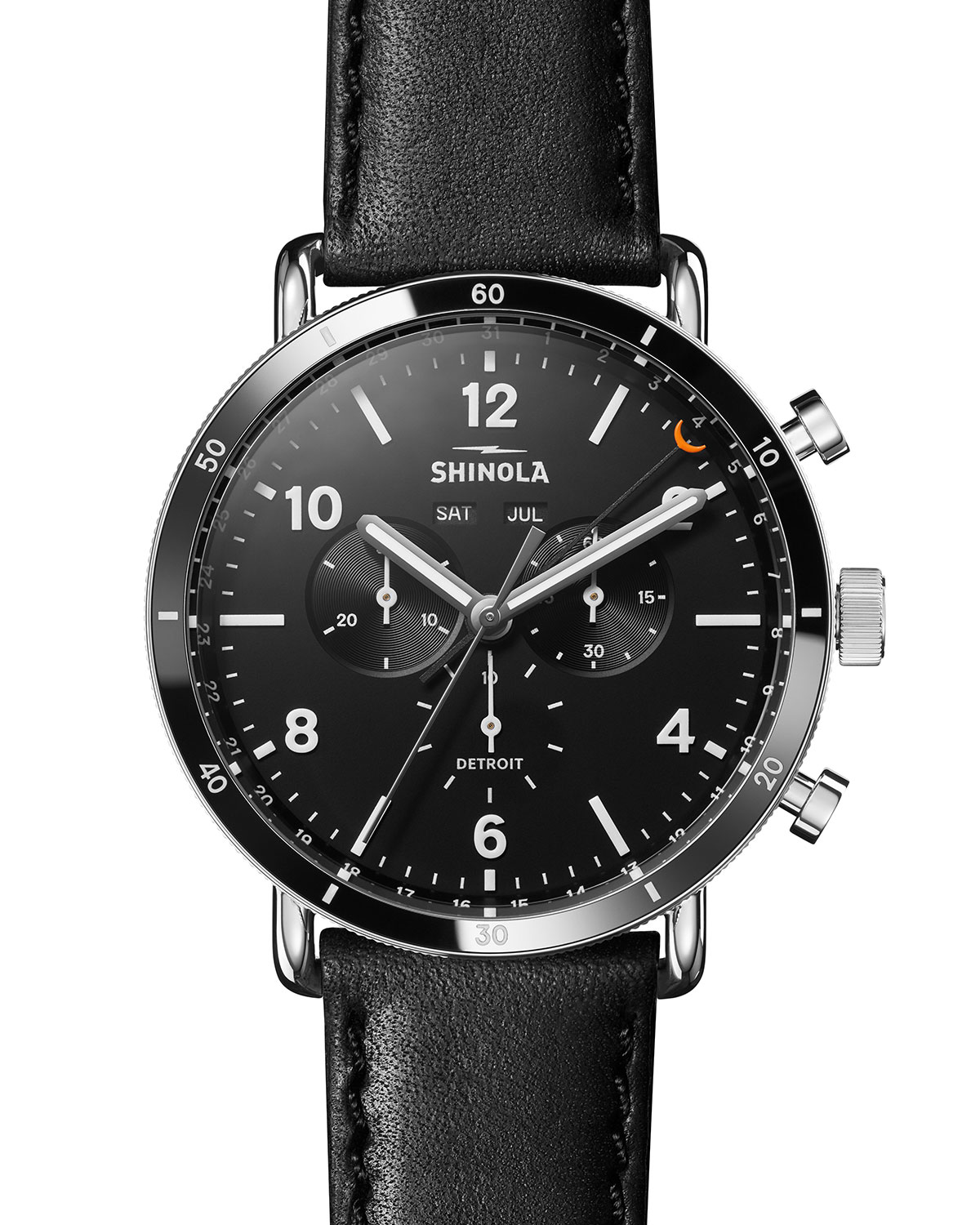Men's 45mm Canfield Chronograph Watch