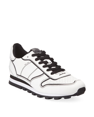Men's Edgepaint C118 Leather Runner Sneakers