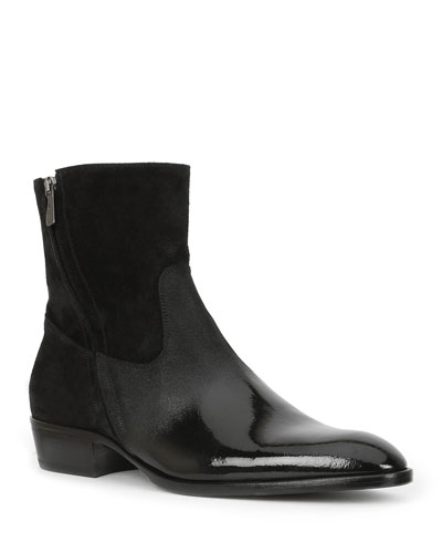 f0fc8ffc74bed Quick Look. Bruno Magli · Men's Risoli Leather Zip-Up Ankle Boots