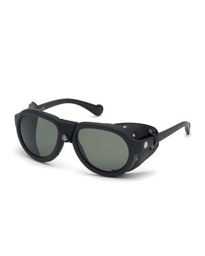 e8fff73bfb8 Quick Look. Moncler · Men s Round Sunglasses ...