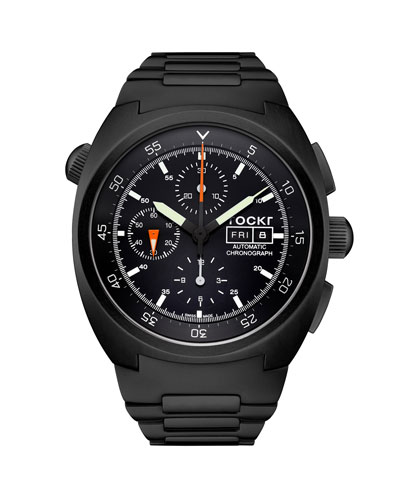 Men's 45mm Air Defender Chronograph Bracelet Watch
