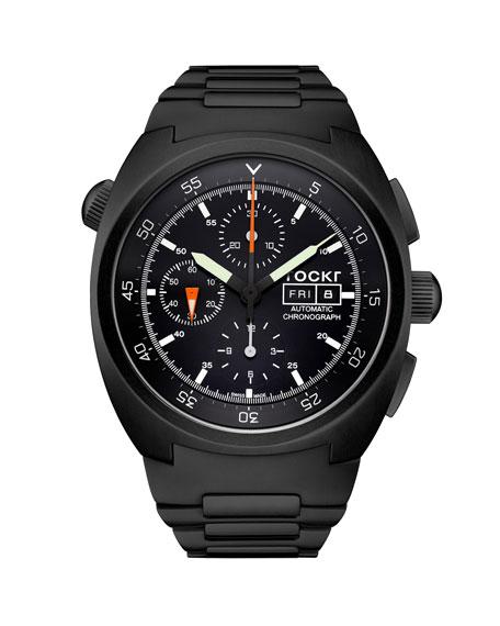 Tockr Watches Men's 45mm Air Defender Chronograph Bracelet Watch