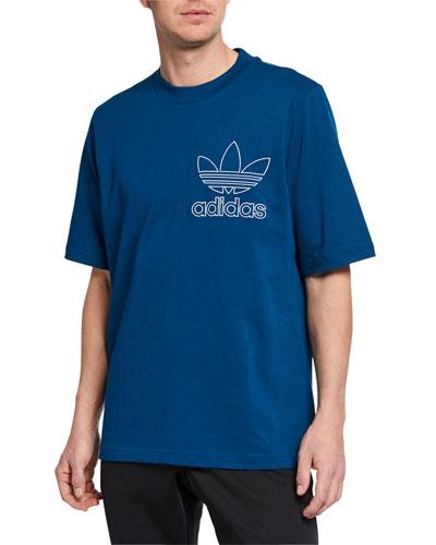 Men's Outline Graphic T-Shirt