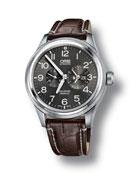 Oris Men's 44.7mm Big Crown Propilot Worldtimer Watch,