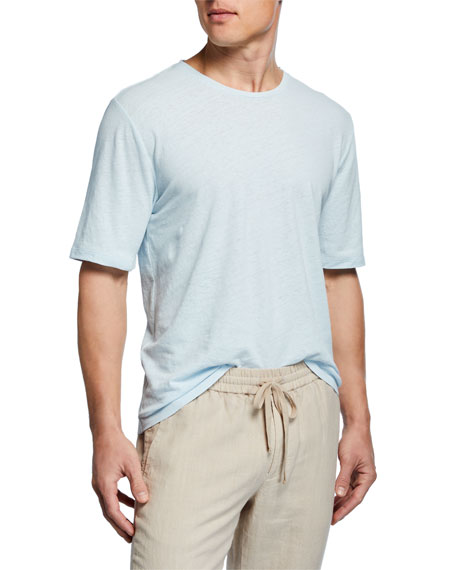 Vince Men's Short-Sleeve Solid T-Shirt
