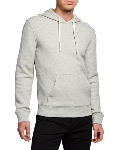 Men's Cotton Solid Hoodie