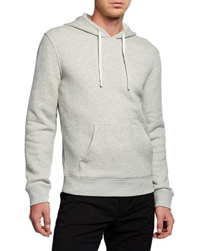 Men's Cotton Solid Hoodie