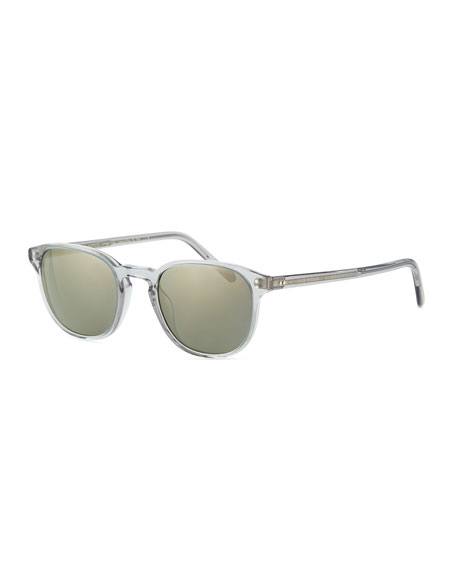 Oliver Peoples Men's Fairmont Acetate Sunglasses