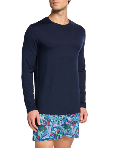 Men's Long-Sleeve Jersey Tee