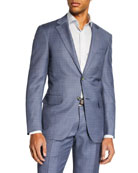 Canali Men's Mixed Solid Two-Piece Suit