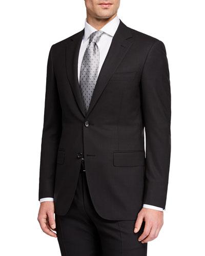 Men's Impeccabile Glen Plaid Two-Piece Suit