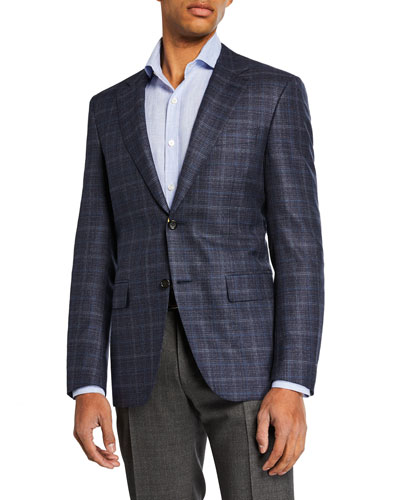 Men's Midnight Tonal Sport Coat