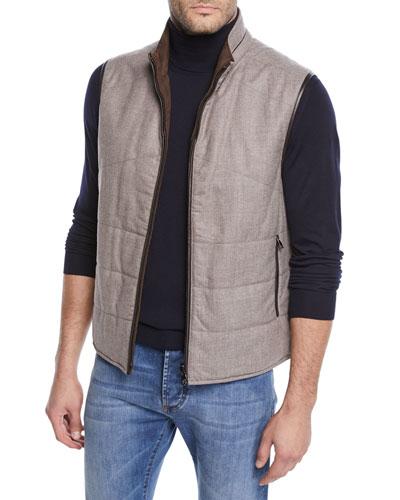 Men's Reversible Woolsphere Vest