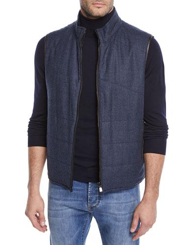 Men's Check Woolsphere Vest